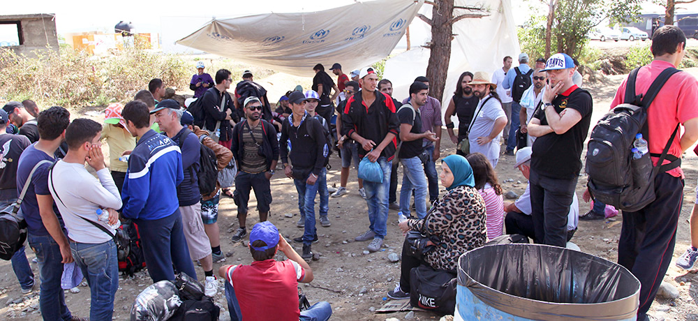 Women church leaders visiting Greek refugee hotspots