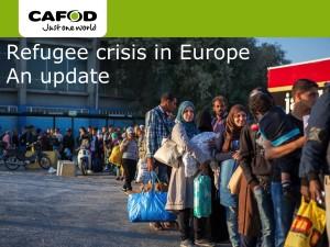 CAFOD school refugee update