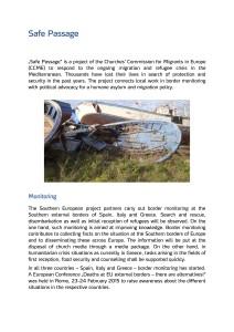 CCME Safe Passage Leaflet
