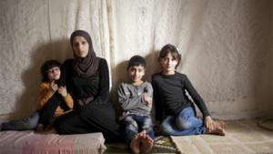 Christian Aid - Syrian Family in Lebanon