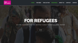For Refugees homepage