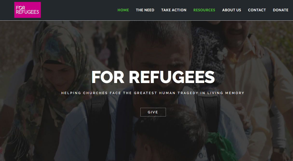 For Refugees – responding as Good Samaritans