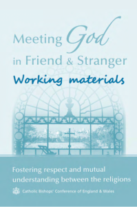 Meeting God in Friend and Stranger working materials cover