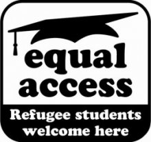 Student Christian Movement - Equal Access campaign logo