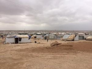 Za'atari Jordan Refugee camp - Bishop Angaelos visit in March 2016