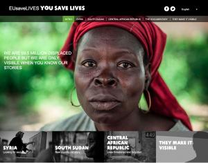 EUsaveLives You Save Lives website top