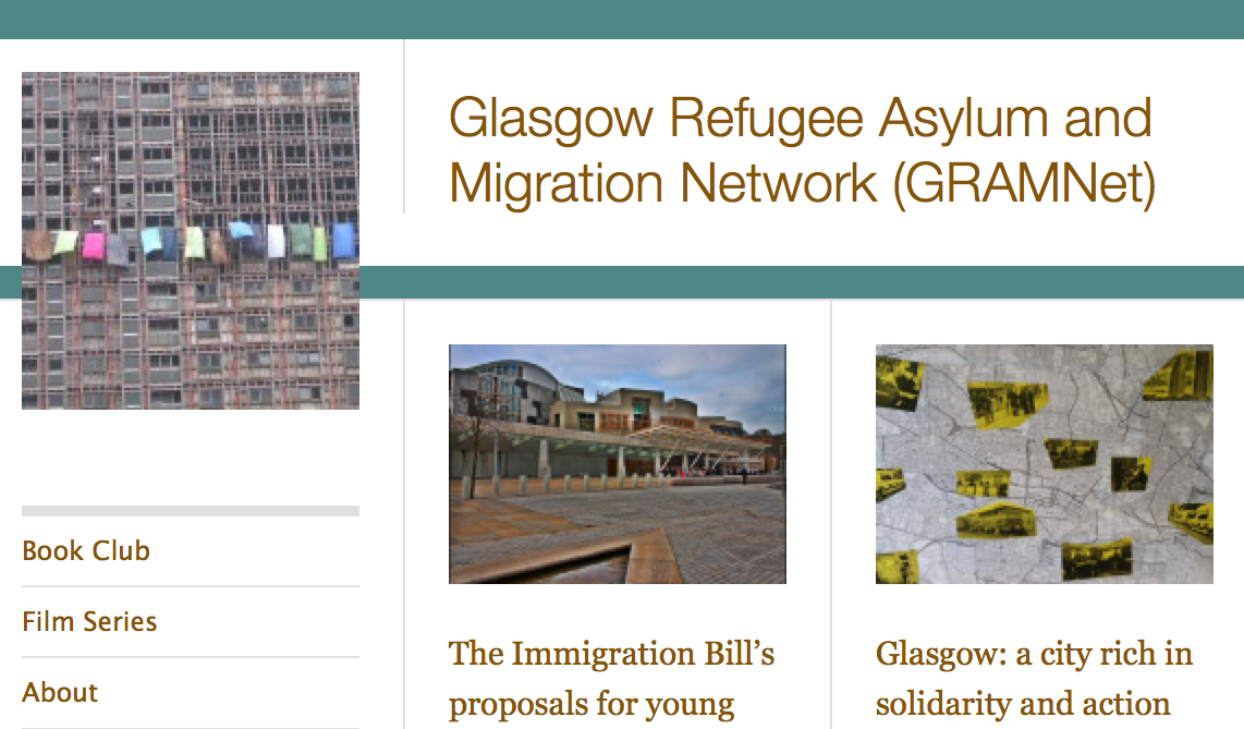 About … Glasgow Refugee Asylum and Migration Network (GRAMNet)