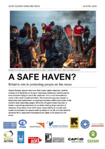 Safe Haven report cover