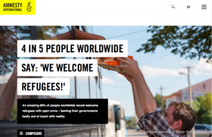 Amnesty 4 in 5 people welcome refugees