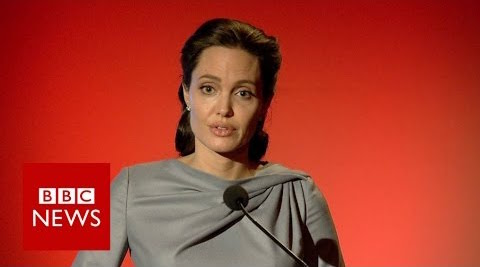 Angelina Jolie Pitt: displacement affects 1 in every 122 people #worldonthemove