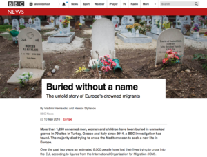 BBC News Europe drowned refugees 1