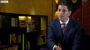 BBC interview with David Miliband