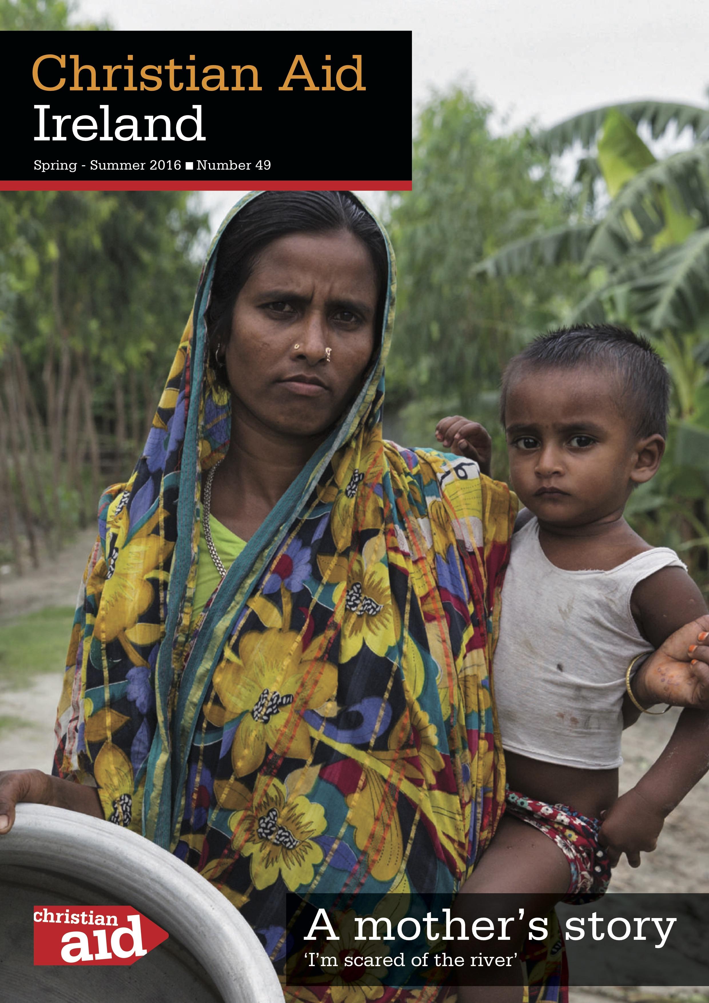 Christian Aid Ireland highlight displacement around the world