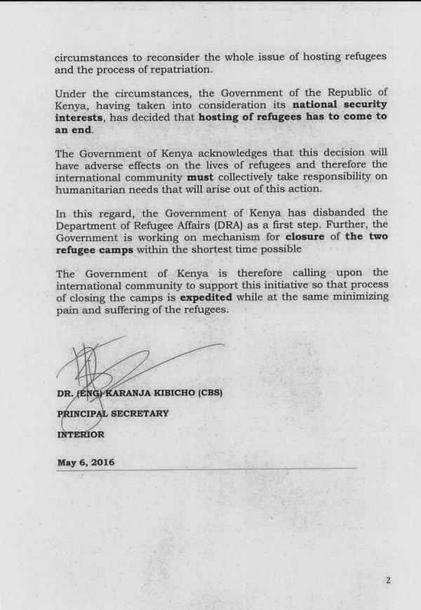 Kenyan Camps Closure 600000 Refugees Focus On Refugees