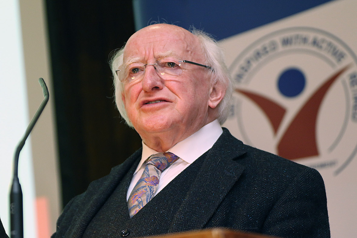 "President Higgins: ""The language of flocks and language about swarms is completely wrong"""