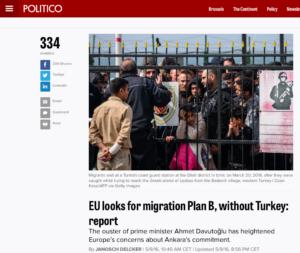 Politico EU Turkey deal Plan B web article