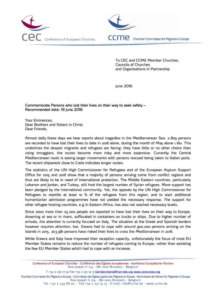 2016 June CEC CCME letter