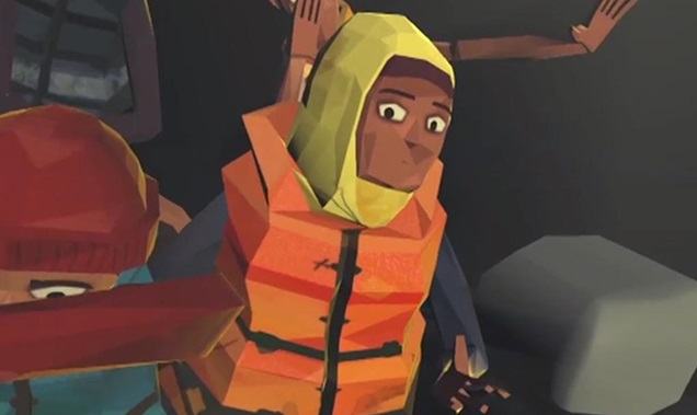 Immersive storytelling placing viewers beside refugees in boats, camps & detention centres
