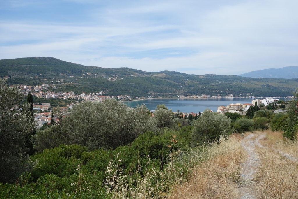 Overlooking Samos - Sarah Moore