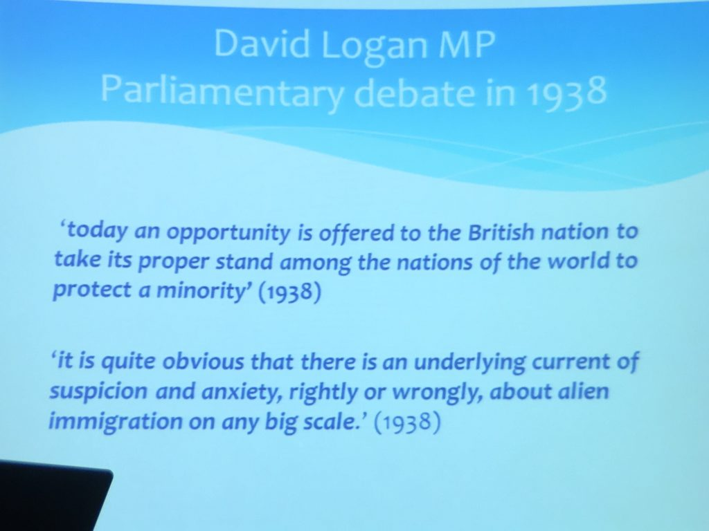 David Logan MP 1938