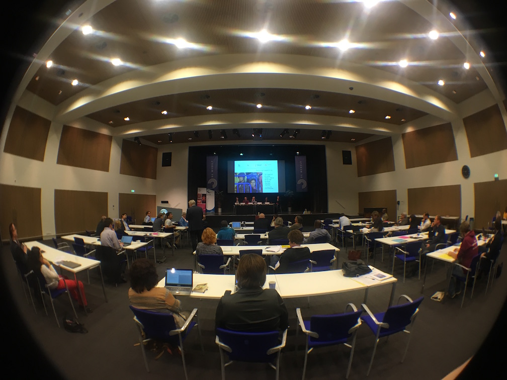 Fisheye view from back of CCME Lunteren conference