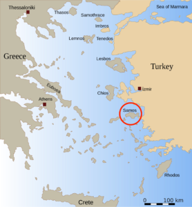 Greece and Samos wikipedia