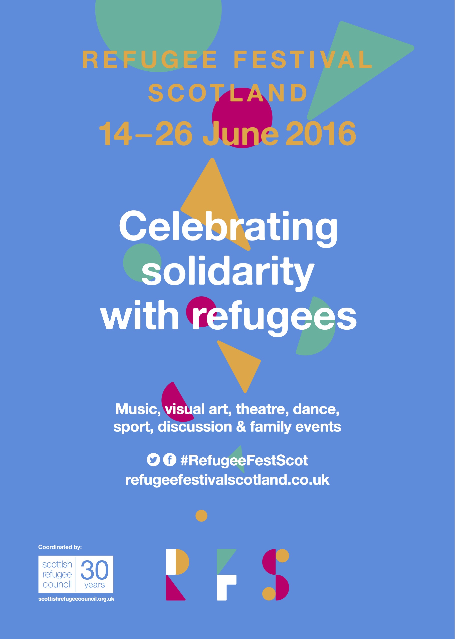Refugee Festival Scotland – visibly and proudly standing in solidarity