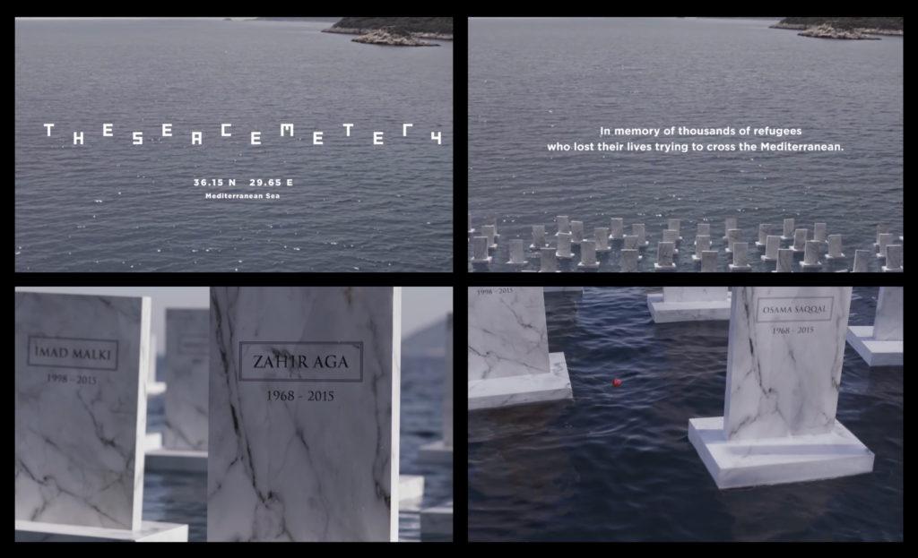 The Sea Cemetery 2x2