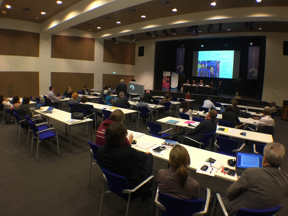 View from side at back of CCME Lunteren conference