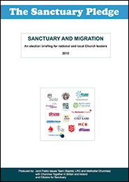 Sanctuary Pledge briefing