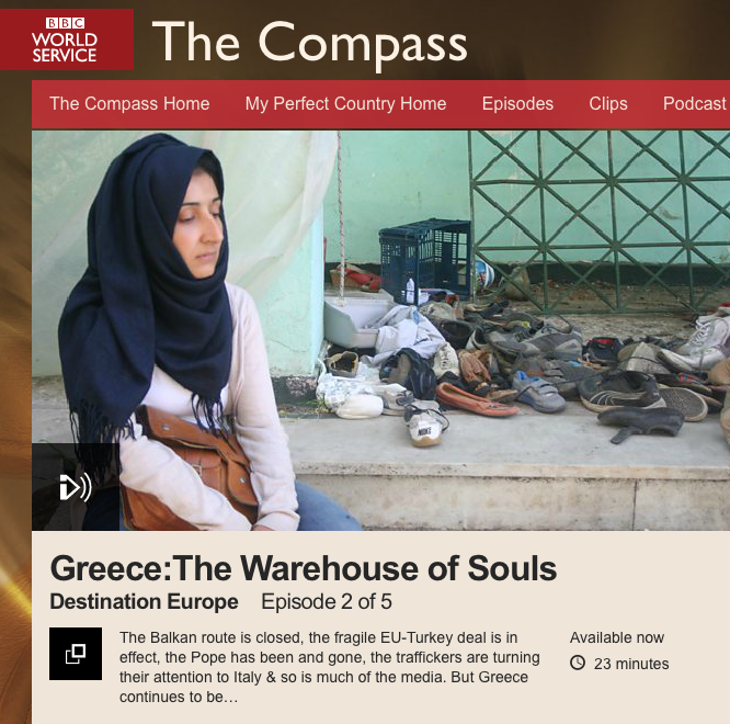 BBC World Service The Compass Destination Europe Greece screenshot