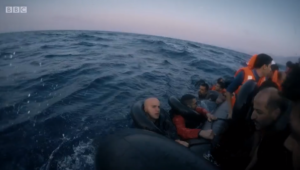 Exodus Our Journey to Europe episode 1 still boat