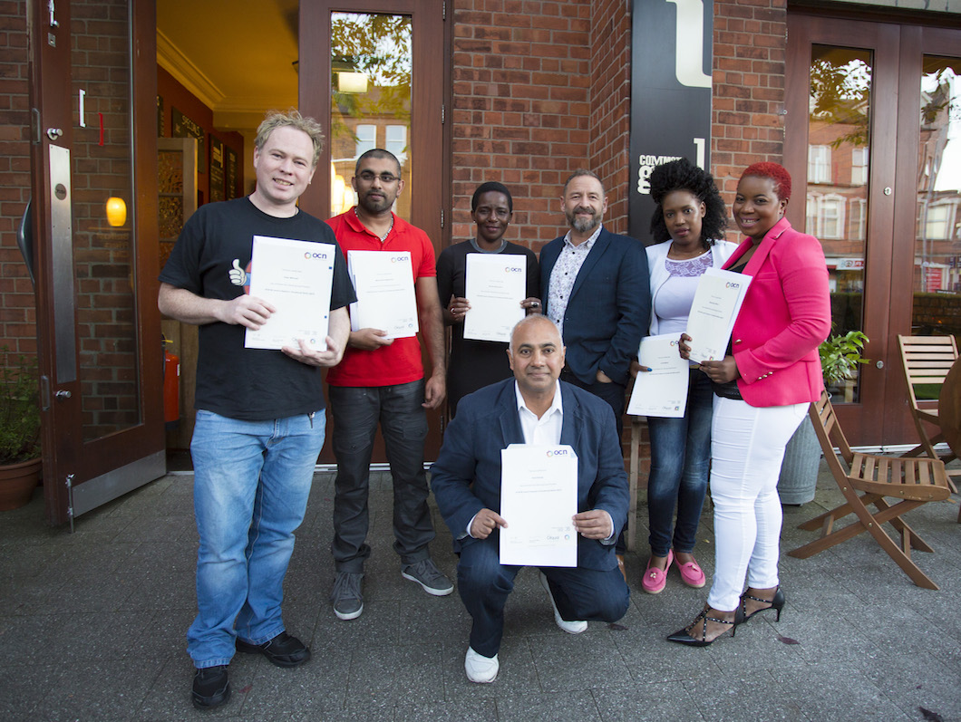 Asylum seekers trained in Global Kitchen