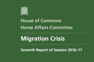 Home Affairs Committee report on refugees