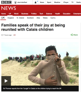bbc-14-children-transferred-to-uk-from-calais