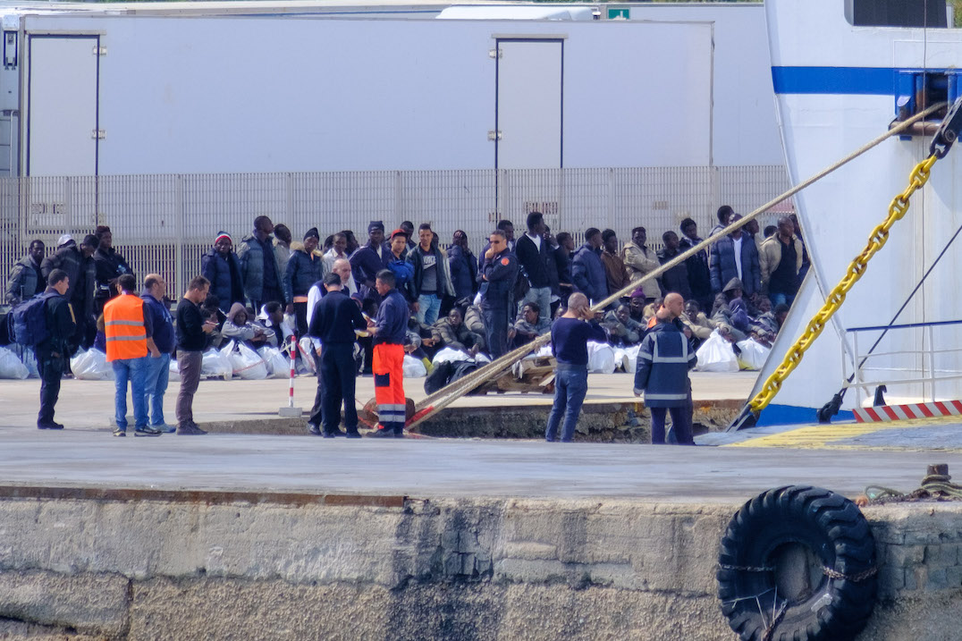 Humanity is being questioned on Lampedusa