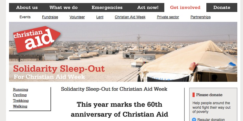 Refugee Solidarity Sleep-out in Belfast (12-13 May)