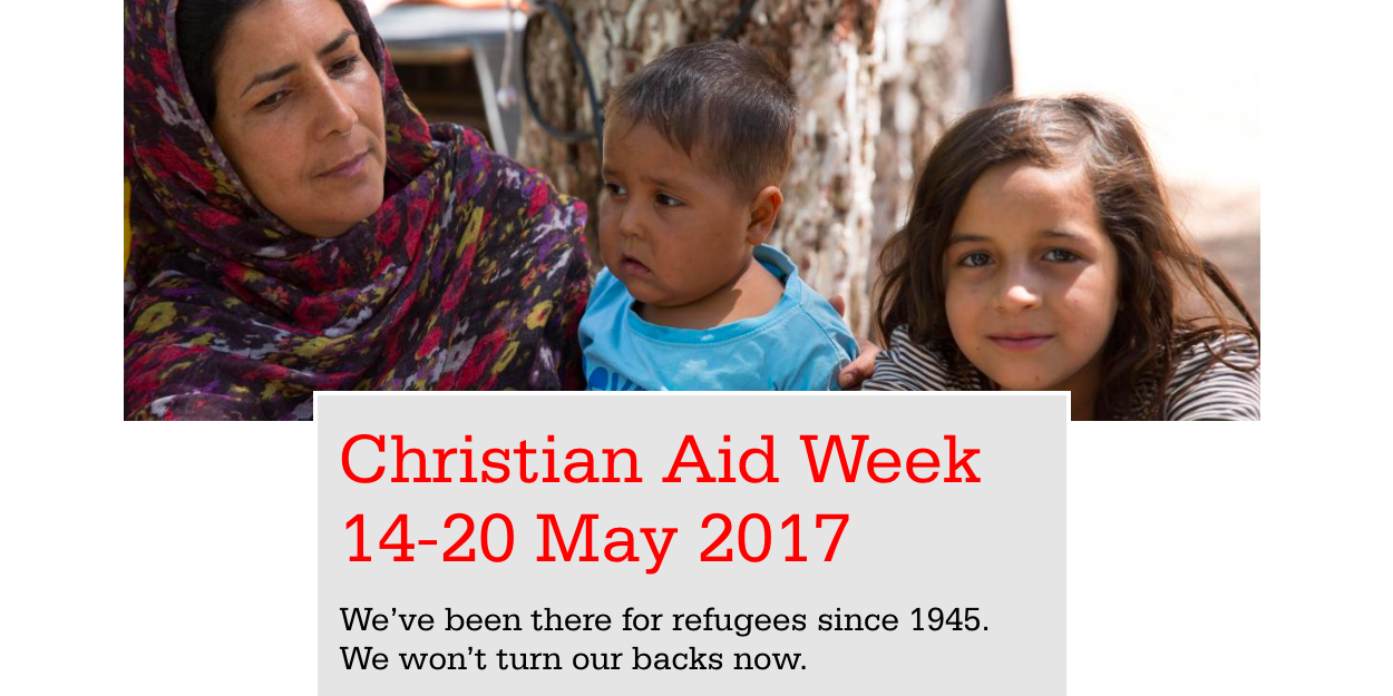 60th anniversary of Christian Aid Week