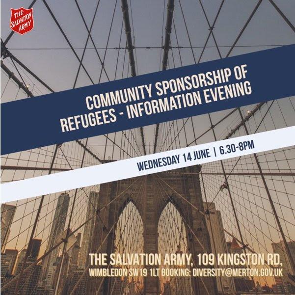Wimbledon Salvation Army encourage community sponsorship