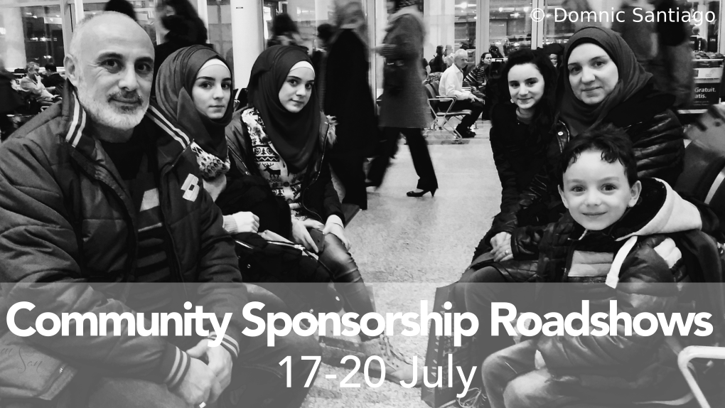 Community Sponsorship Roadshows (17-20 July)