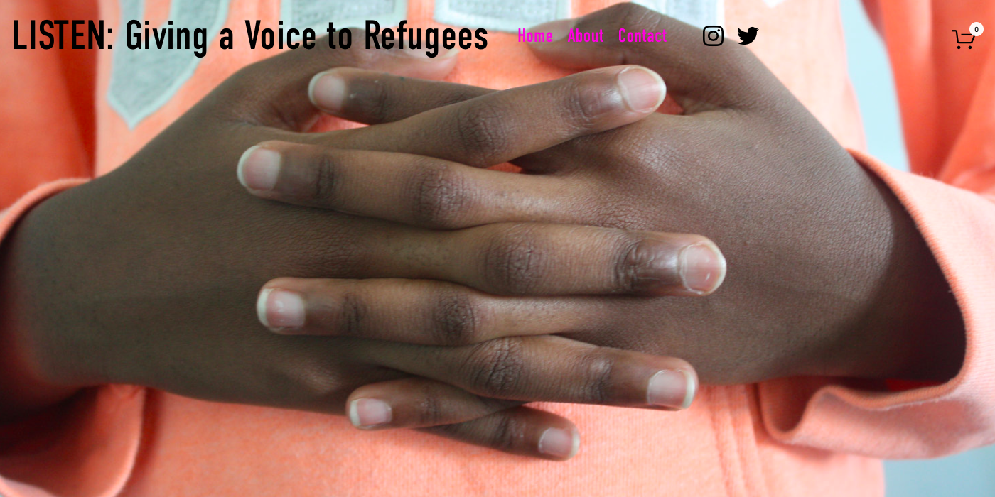 Listen – giving a voice to voiceless refugees