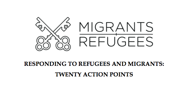 Welcoming, protecting, promoting & integrating migrants & refugees