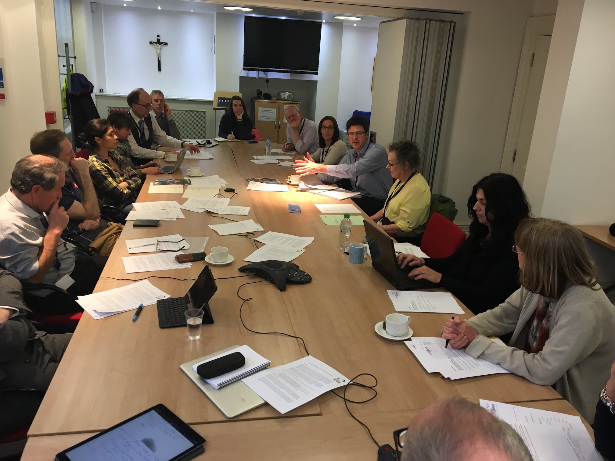 CTBI's Churches' Refugee Network meets
