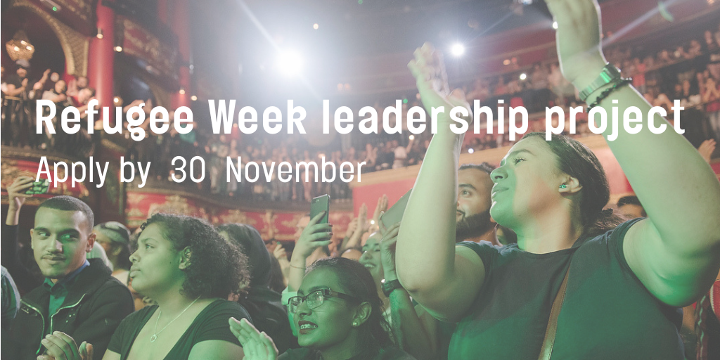 Intern opportunity with Refugee Week for people from refugee backgrounds
